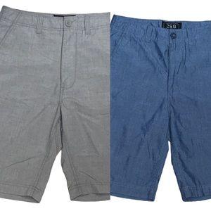 Champs CSG Bundle of 2 Men's Shorts Grey/blue 30